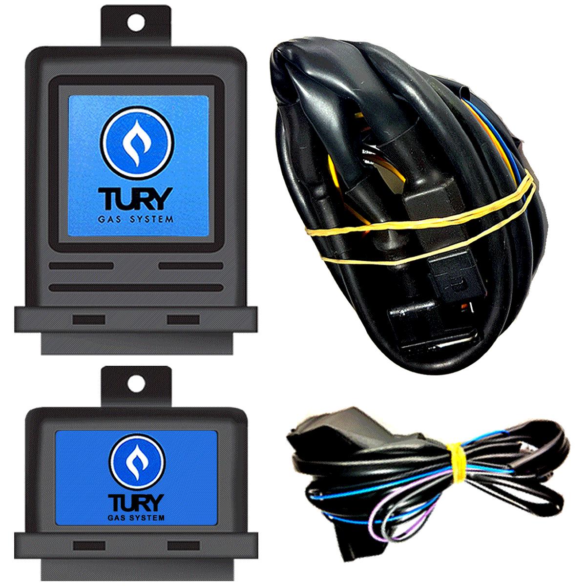 Variador de Avanço e Simulador de Sonda Lambda Flex TURY T68