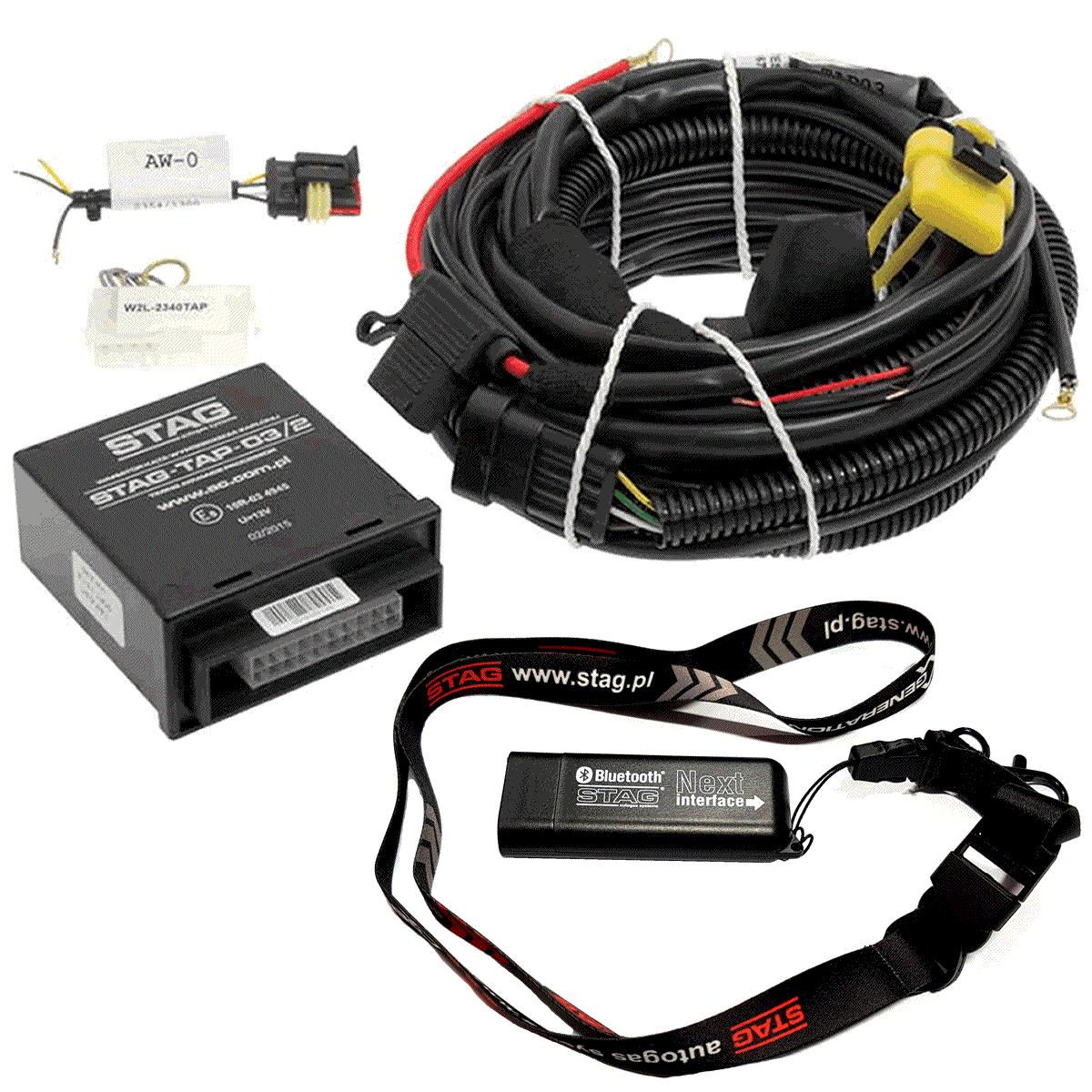 Variador de Avanço STAG TAP03/2 e Interface Bluetooth de Programação