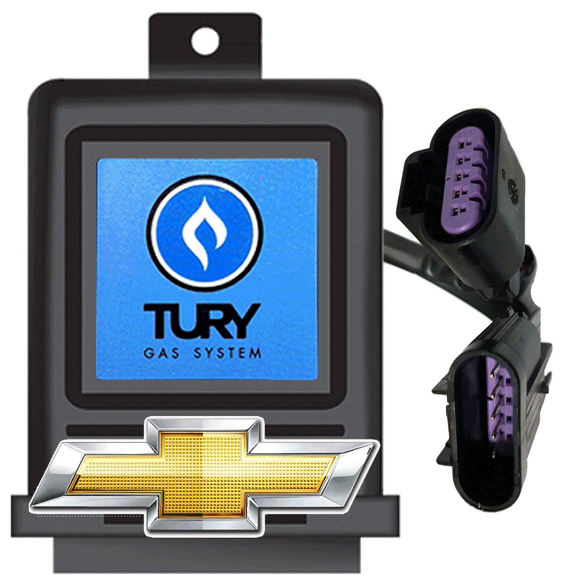 Variador de Avanço T36B TURY GAS  com conector Chevrolet GM
