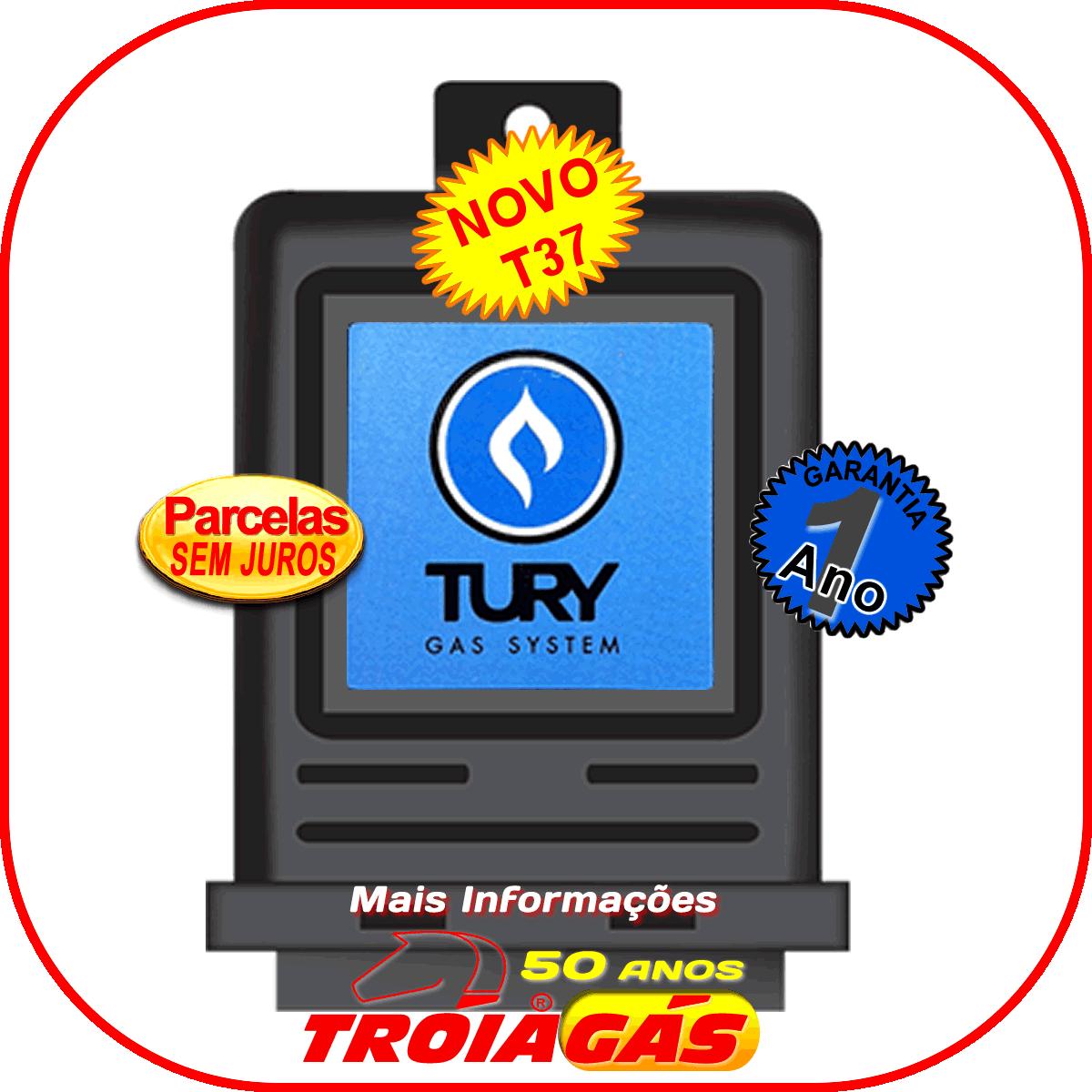 Variador de Avanço T37 TURY GAS Sensor Rotação Hall
