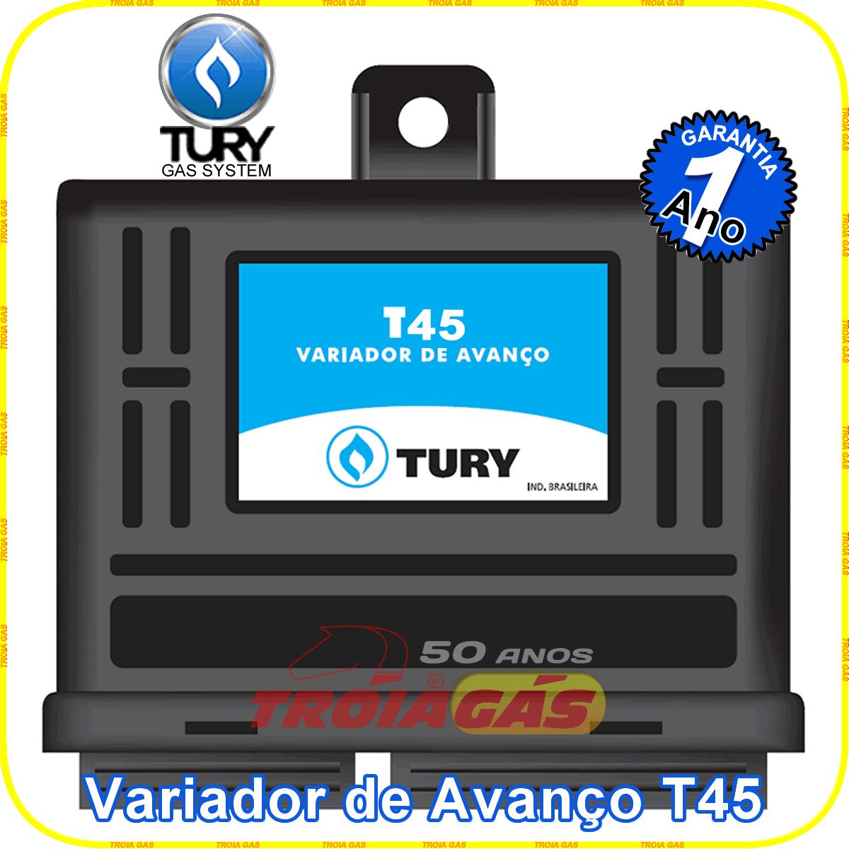 Variador de Avanço T45 TURY  GAS p/Renault Niissan