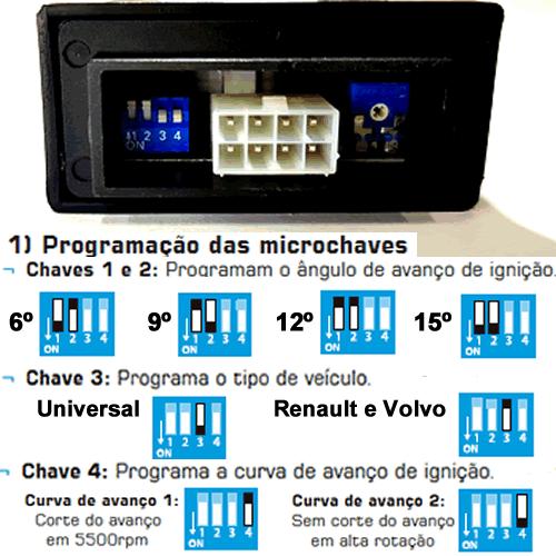 Variador de Avanço TURY GAS a Escolher 2ª a 5ª geração
