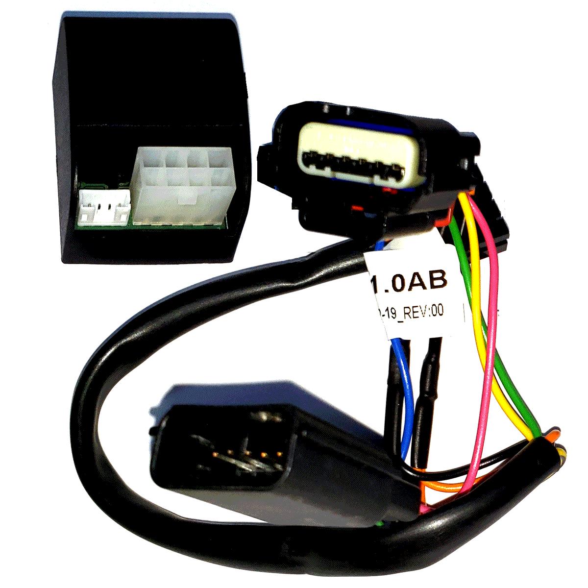 Variador T47 AB Acelerador Eletrônico GNV Chevrolet GM Plug & Play TURY GAS