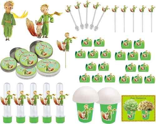 Kit Festa O Pequeno Príncipe 265 Peças (30 pessoas)