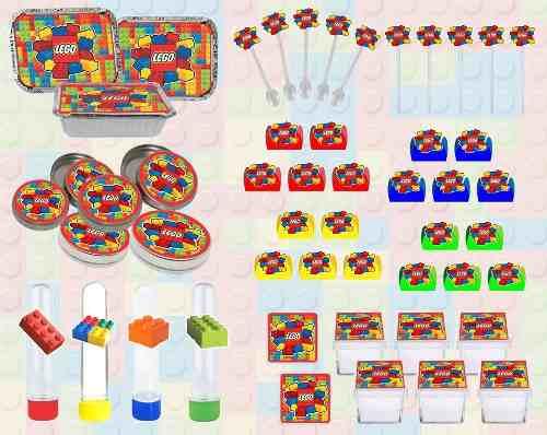 Kit Festa Infantil Lego 114 Pças