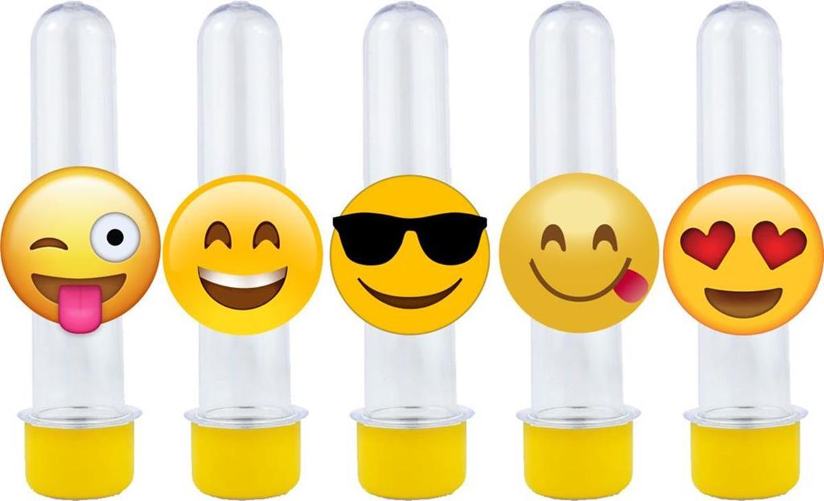 10 tubetes emoji
