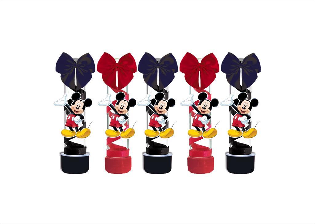 10 tubetes decorado Mickey