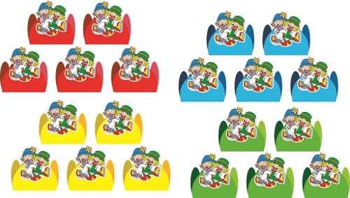 Kit Festa Infantil Patati Patatá 178 Peças (20 pessoas)