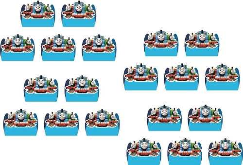 Kit Festa Infantil Thomas E Seus Amigos 99 Peças (10 pessoas)