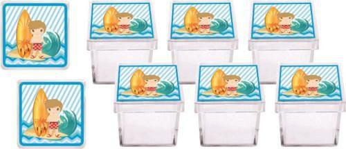 Kit Festa Infantil Surf 114 Pças (10 pessoas)