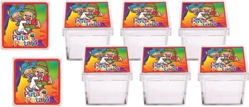 Kit Festa Infantil Patati Patatá 107 Peças (10 pessoas)