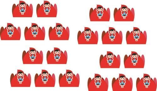 Kit Festa Chapeuzinho Vermelho 114 Pças (10 pessoas)