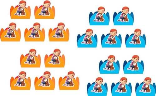 Kit Festa Infantil Lelê E Linguiça 265 Peças (30 pessoas)