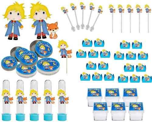Kit Festa O Pequeno Príncipe Baby 265 Peças (30 pessoas)