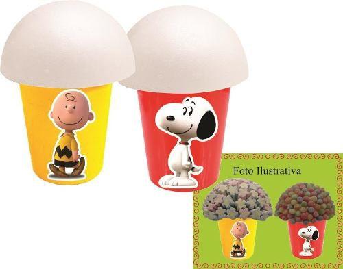 Kit festa Snoopy 265 Peças (30 pessoas)