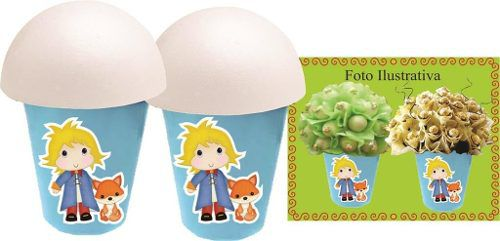 Kit Festa O Pequeno Príncipe Baby 292 Peças (30 pessoas)