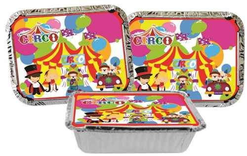 Kit festa Circo 292 Peças (30 pessoas)