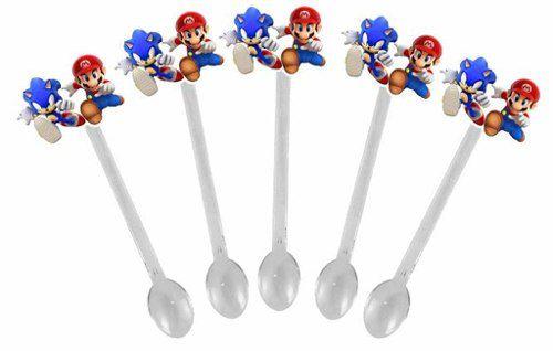 Kit festa Infantil Mario X Sonic 292 Peças (30 pessoas)