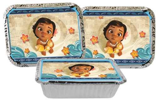 Kit Festa Infantil Moana Baby 292 Peças (30 pessoas)