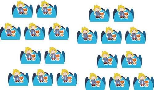 Kit festa  O Pequeno Príncipe Baby 178 Peças (20 pessoas)