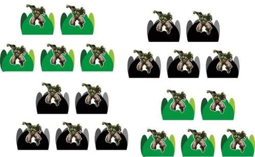 Kit Festa Infantil Hulk 292 Peças (30 pessoas)