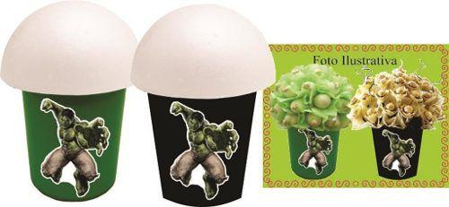 Kit Festa Infantil Hulk 265 Peças (30 pessoas)
