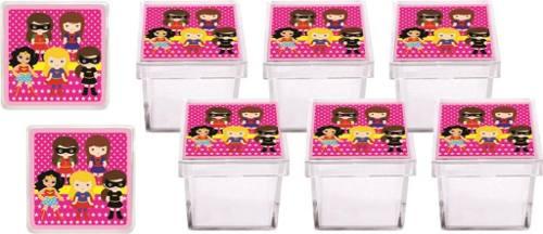 Kit Festa Infantil Super Heroínas 178 Pças (20 pessoas)