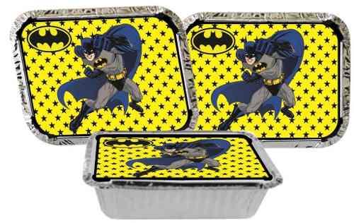 Kit Festa Infantil Batman 292 Peças (30 pessoas)