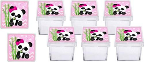 Kit Festa Infantil Panda Menina 161 Peças (20 pessoas)