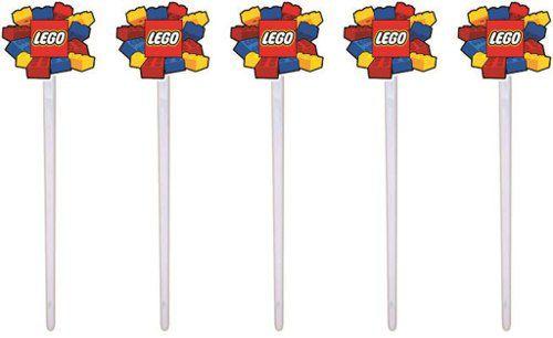 Kit Festa Infantil Lego 178 Pças (20 pessoas)