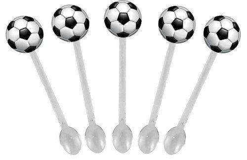 Kit Festa Futebol (preto E Branco) 292 Peças (30 pessoas)