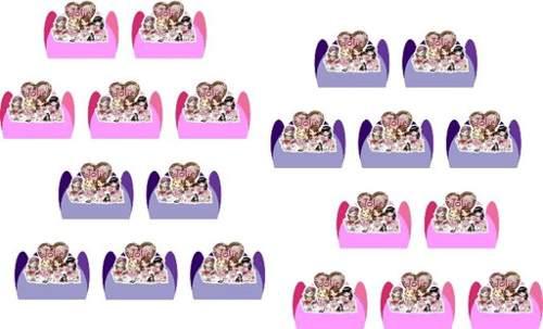 Kit Decorativo Infantil Jolie 178 Peças (20 pessoas)