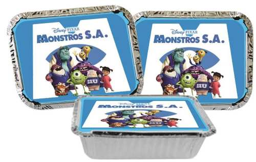 Kit Festa Infantil Monstros S.a. 178 Pças (20 pessoas)