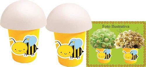 Kit Festa  Abelha (abelhinha) 265 Peças (30 pessoas)