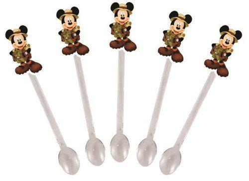 Kit Festa Mickey Safari 160 Peças (20 pessoas)