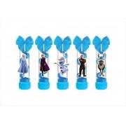 10 tubetes decorado Frozen 2 (azul)