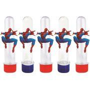 10 tubetes homem aranha