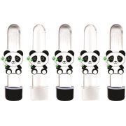 10 tubetes panda menino