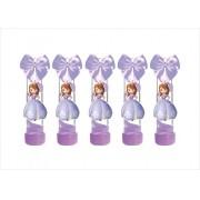 10 tubetes decorado Princesa Sofia