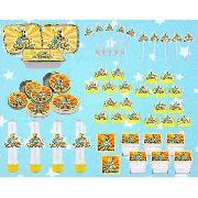 Kit Festa Infantil Pokémon (pikachu) 178 Pças (20 pessoas)