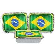 Kit Decorativo Do Brasil 160 Peças (20 pessoas)