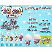 Kit Festa Infantil Pocoyo 106 Peças (10 pessoas)