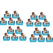 50 Forminhas Moana Baby