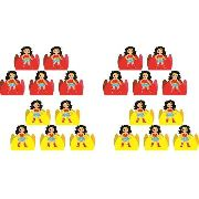 50 Forminhas Da Mulher Maravilha Baby