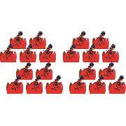 50 Forminhas Ladybug