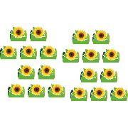 50 Forminhas Girassol