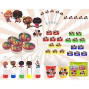 Kit Festa Mini Beat Power Rockers 265 Peças (30 pessoas)