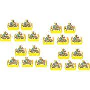 Kit Festa Pokémon (pikachu) 107 Pças (10 pessoas)