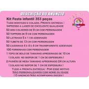 Kit Festa Infantil Pica Pau 353 Peças