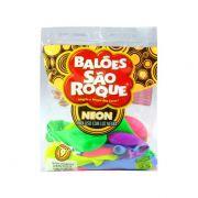 Balão Neon nº9 São Roque (25 unidades)